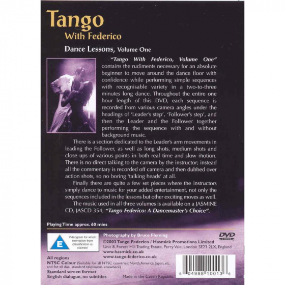 Tango With Federico: Dance Lessons Volume 1