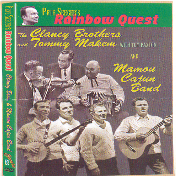 Pete Seeger's Rainbow Quest: Clancy Brothers & The Cajun Band (DVD)