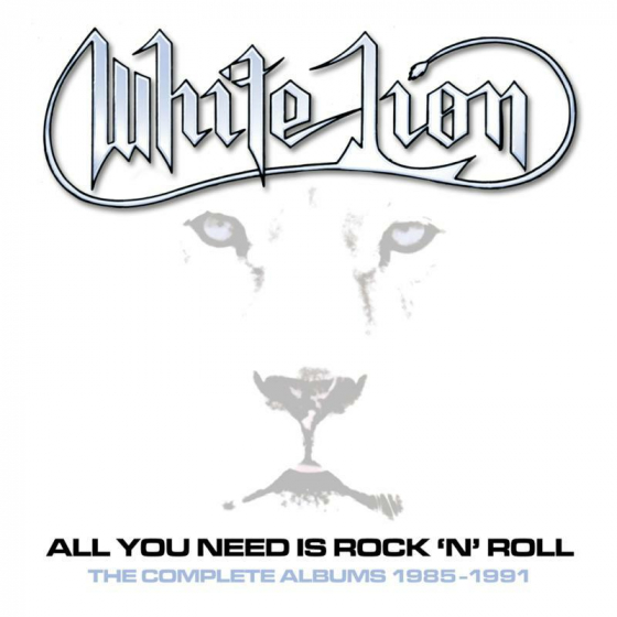 All You Need Is Rock 'N' Roll ~ The Complete Albums 1985-1991: 5CD Clamshell Boxset