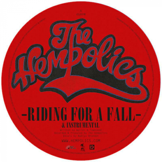 Riding For A Fall / Come As You Are (RSD 2018)