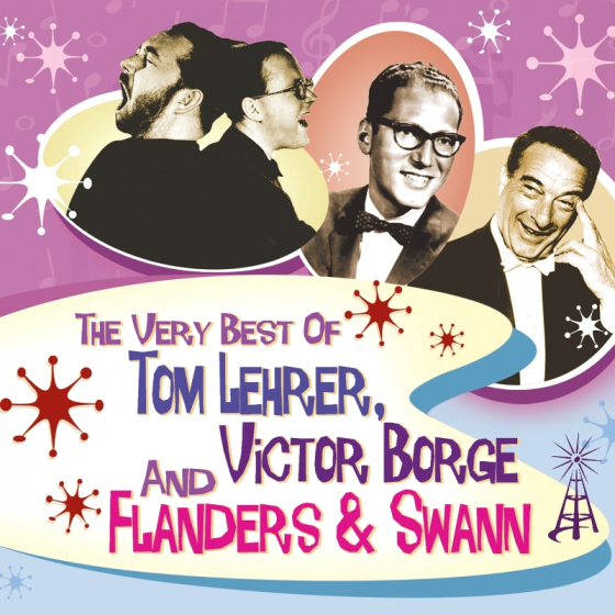 The Very Best of Tom Lehrer, Victor Borge and Flanders & Swann