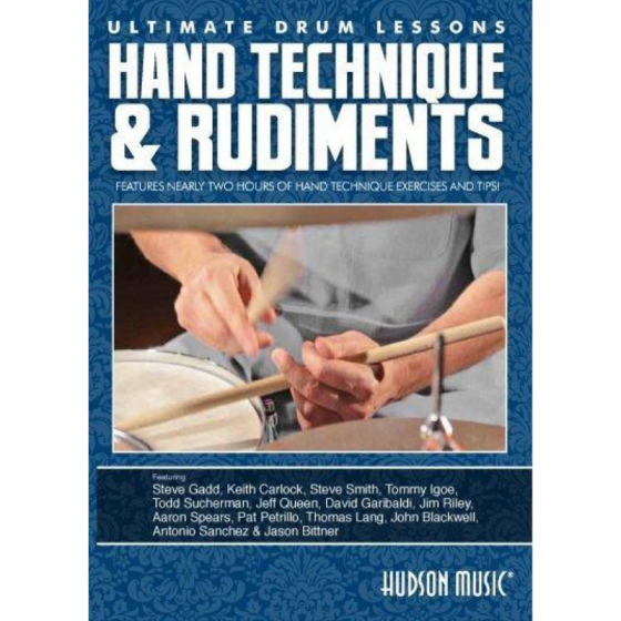 Ultimate Drum Lessons: Hand Technique And Rudiments