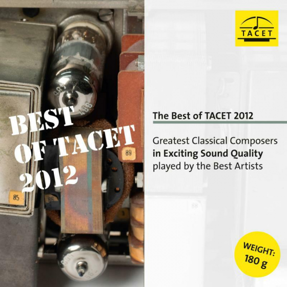 The Best Of TACET 2012, Greatest Classical Composers In Exciting Sound Quality