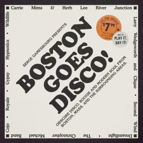 Boston Goes Disco! Compiled by Serge Gamesbourg (4LP)