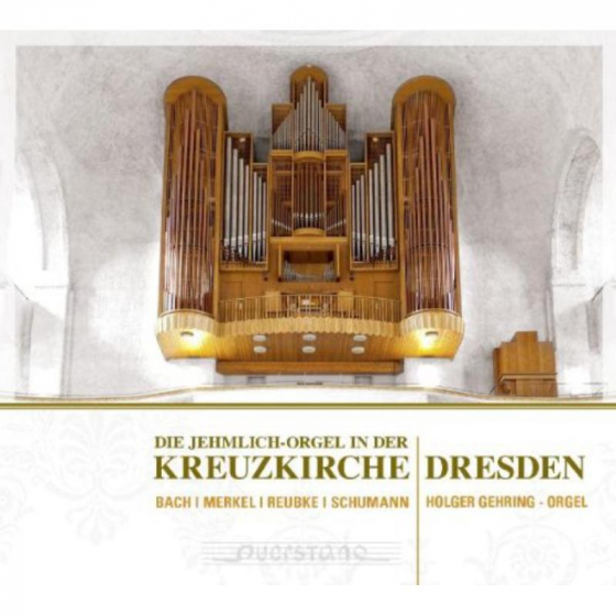 The Jehmlich organ in the Church of the Holy D.