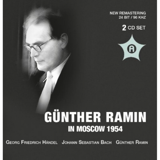 Gunther Ramin in Moscow 1954