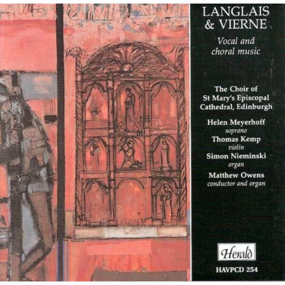 Langlais Vierne Vocal and Choral Wks