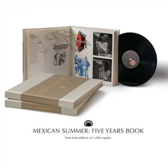 """Mexican Summer: Five Years (Book + 10"""")"""