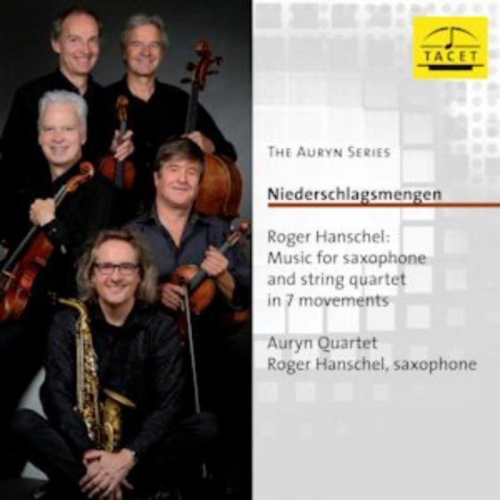 The Auryn Series- Hanschel: Music For Saxophone  And Strings
