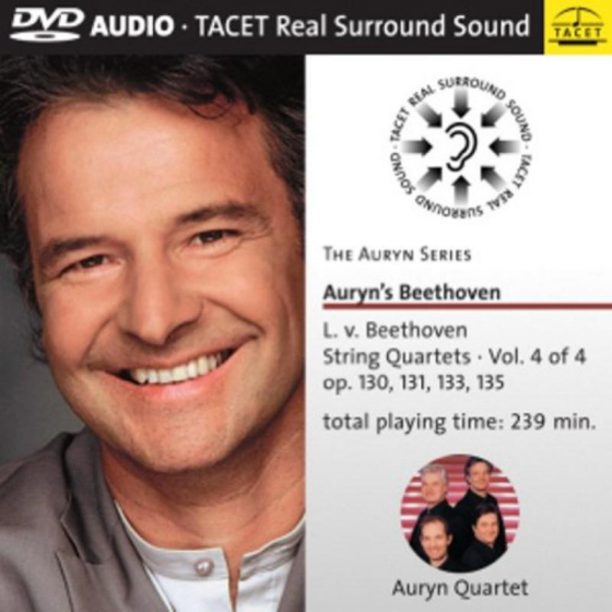 Auryn's Beethoven: String Quartets Vol 4 von 4