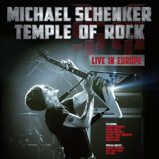 Temple Of Rock-Live In Eu