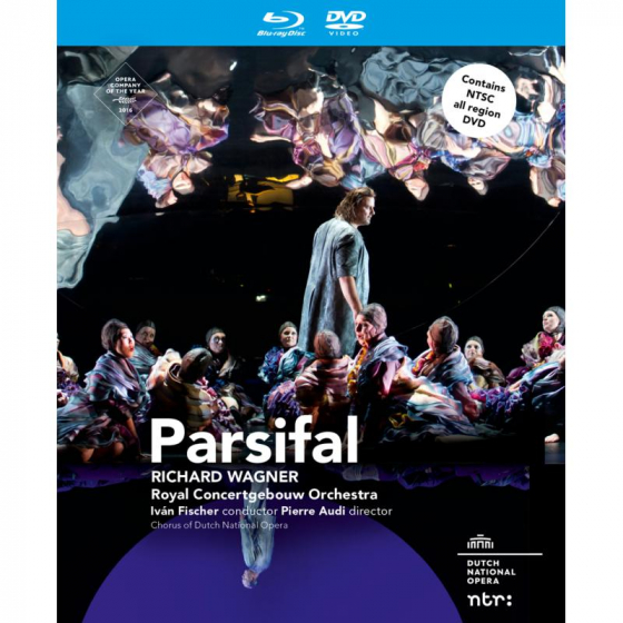 Wagner: Parsifal (Blu-ray + DVD)