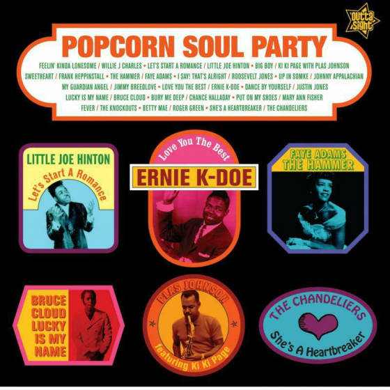 Popcorn Soul Party - Blended Soul And R&B 1958-62