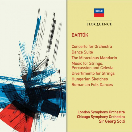 Bartok: Orchestral Works (Conc For Orch, Dance Suite Etc)