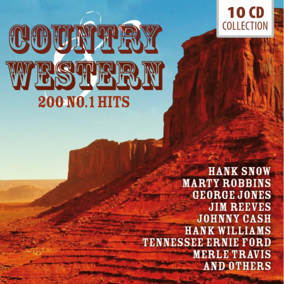 Country & Western - 200 No.1 Hits