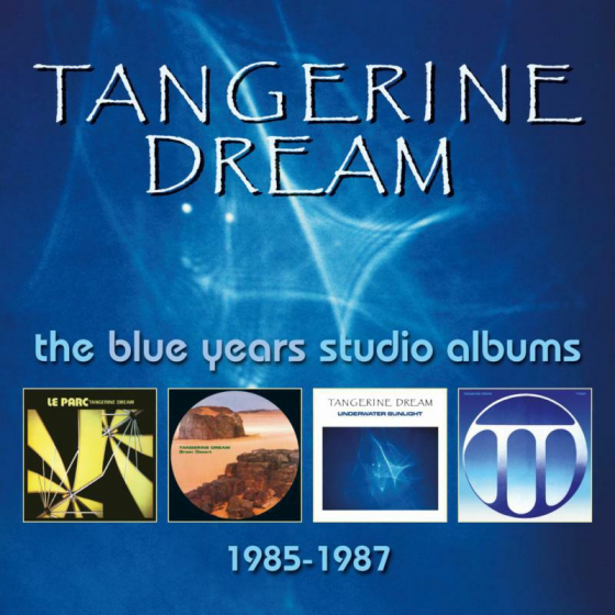 The Blue Years Studio Albums: 1985-1987 (4CD)