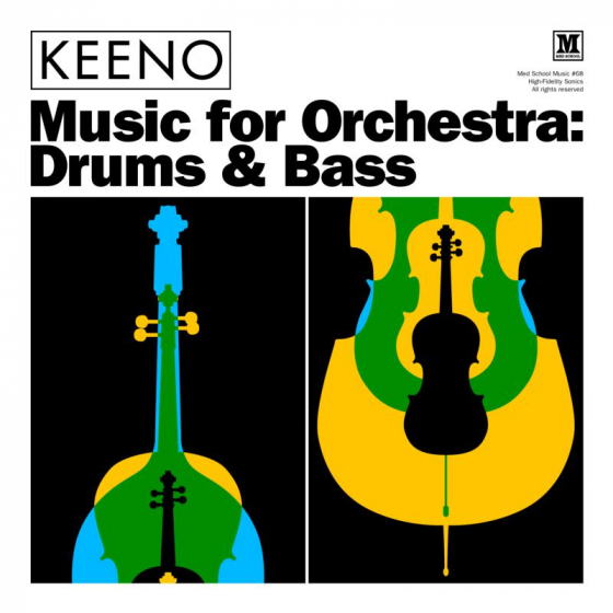 "Music For Orchestra: Drums & Bass (12"" EP)"