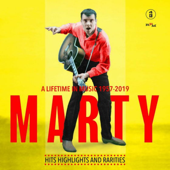 Marty ~ A Lifetime In Music: 1957-2019