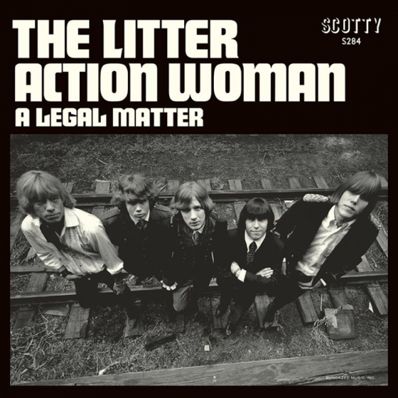 Action Woman / A Legal Matter (BLUE VINYL)