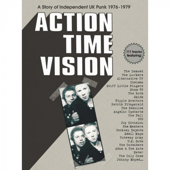 Action Time Vision - A Story Of Independent UK Punk 1976-1979 (4CD)