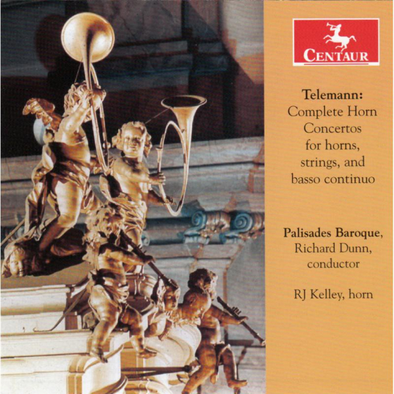 Telemann: Complete Horn Concertos for horns, strings and basso continuo
