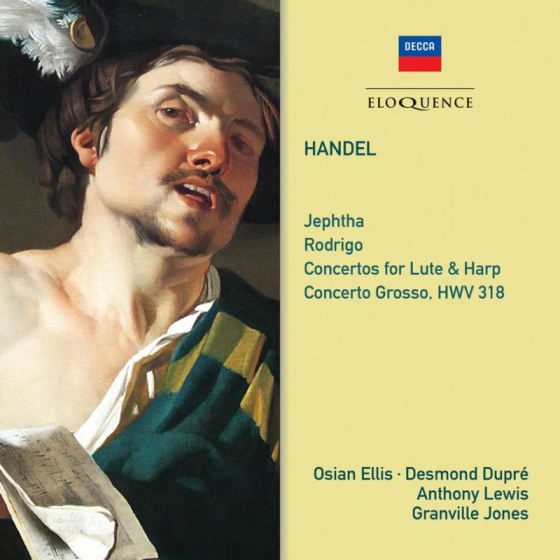 Handel: Jephtha; Rodrigo; Concertos For Lute And Harp
