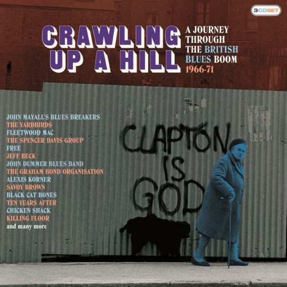 Crawling Up A Hill ~ A Journey Through The British Blues Boom 1966-7 (3CD)