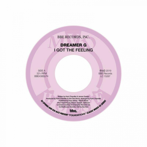 """DJ Spinna And Kai Alce present  """"Foundations"""" ~ Classic House 45 series Part 4: I Got the Feeling b/w Definition Of A Track"""