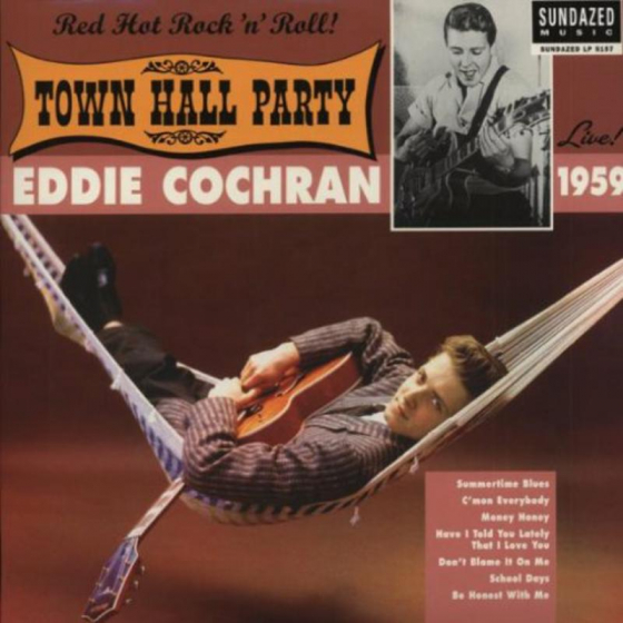 Eddie Cochran Live At Town Hall Party 1959