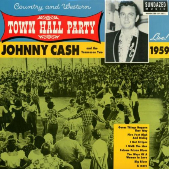 Johnny Cash Live At Town Hall Party 1959!