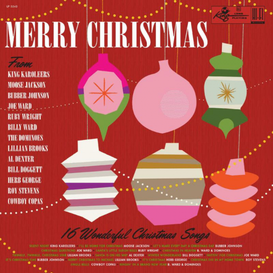 Merry Christmas From King Records (RED VINYL) Black Friday