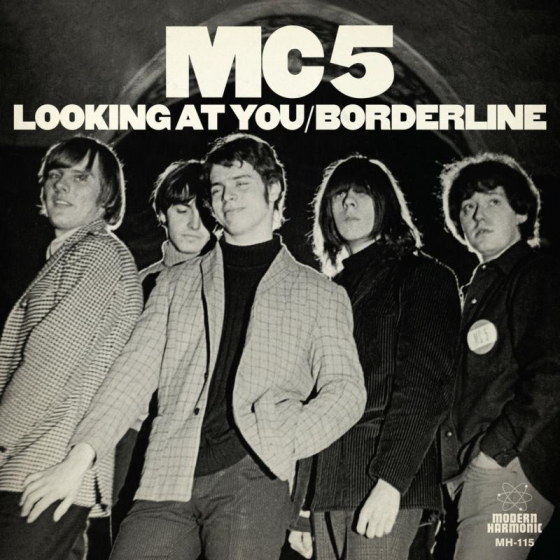 Looking At You / Borderline (WHITE VINYL)