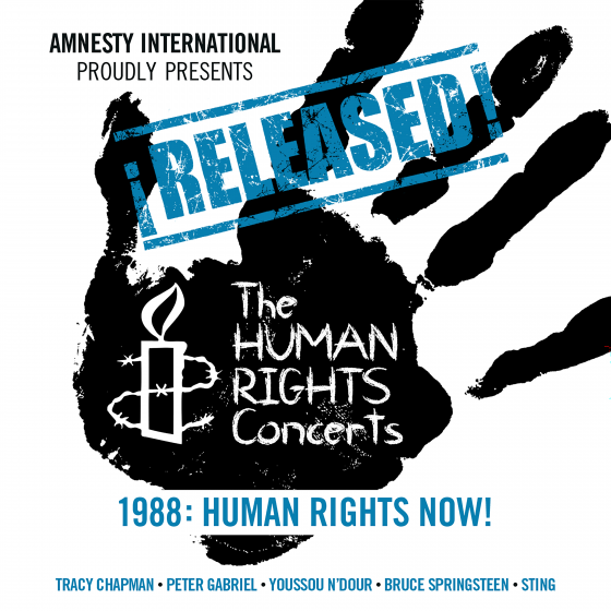 The Human Rights Concerts 1988: Human Rights Now! (2CD Digip