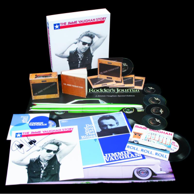 The Jimmie Vaughan Story - Deluxe Box Set (5CD+LP)