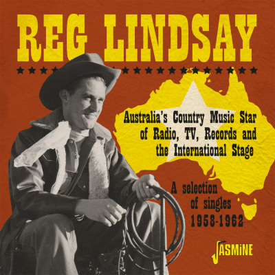 Australia's Country Music Star of Radio, TV, Records and the International Stage - A Selection of Singles 1958-1962
