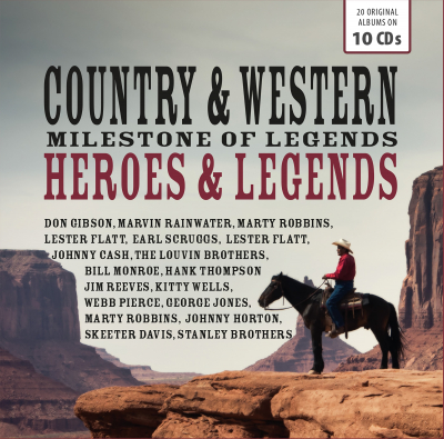Milestone Of Legends: Country & Western Heroes