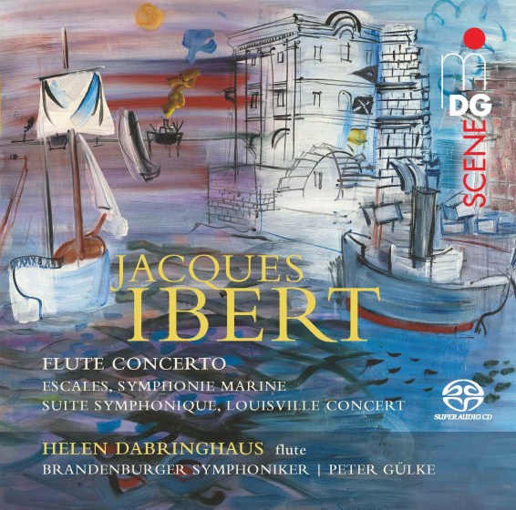 Jacques Ibert: Orchestral Works /  Flute Concerto