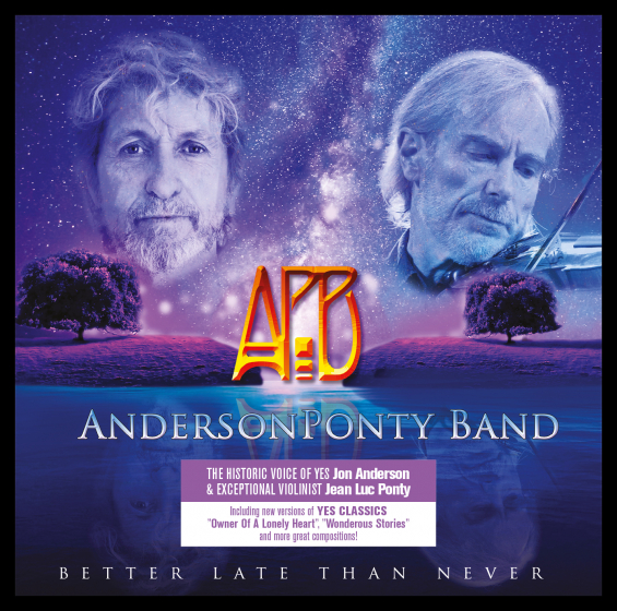 Anderson Ponty Band - Better Late Than Never